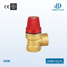 """Female Thread Brass Safety Valve 1/2"""" Inch with Ce Certificate"""