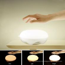 Shenzhen lámparas de mesa creativas de lujo 3D LED para la vida en el hogar