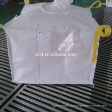 bolso enorme desconcertado para el material en polvo, bolso grande del bafle de FIBC tejido pp barato para la cosecha