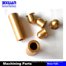 El cobre amarillo de las piezas de cobre parte piezas que trabajan a máquina del CNC de la pieza que trabaja a máquina de cobre amarillo