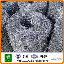 precio de alambre de púas galvanizado en caliente
