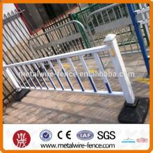 Model wrought iron garden fence