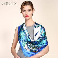 2016 nueva bufanda de seda de la manera para la mujer