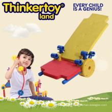 DIY Beach Chair Model Kids Magnetic Toy Blocks Education Toy