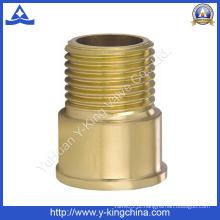 """1/2 """"macho extensão conector latão montagem (YD-6011)"""