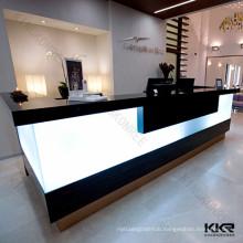 Commercial front desk counter, modern reception desk