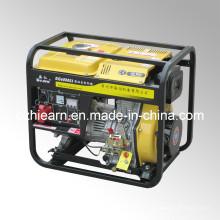 Type de cadre ouvert refroidi par air Générateur diesel triphasé (DG6000E3)