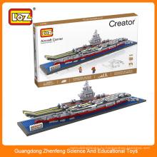 LOZ китайский авианосец Liaoning строительный кирпич игрушка для детей