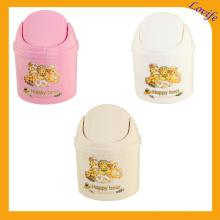 Seau de stockage de plastique à lèvres à plat (FF-5012-3)