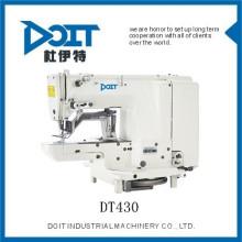 Alta velocidade de acionamento direto industrial bar-tacking máquina de costura DT430