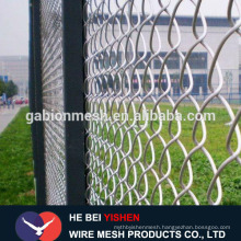Cheap Hot dipped galvanized chain link fence wire mesh fence manufacturer