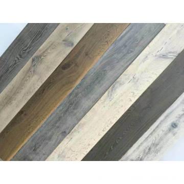 Planchers de bois d'ingénierie en chêne coloré