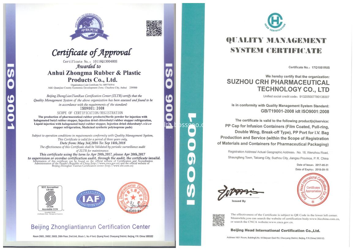 CRH Certificate