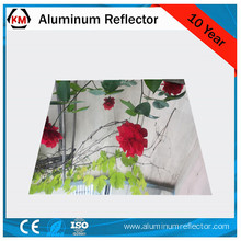 Reflector board made by aluminum sheet