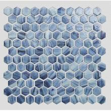 Living Room And Bathroom Glass Mosaic Wall Panel