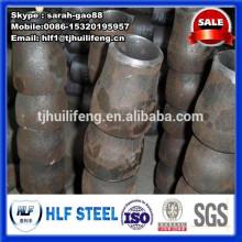 Réducteur de tuyaux en acier noir