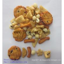Mais Snacks Essen Mix Reis Cracker und beschichtete Erdnüsse