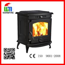 Modelo WM702B, lareira a lenha de madeira de água queimando, fogões