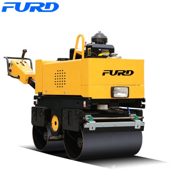 Brand New 0.8Ton 800kg Hydraulic Walk Behind Roller Double Drum Road Roller