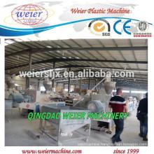 350kg/hr of WPC PVC HOLLOW DOORS PANEL EXTRUSION LINE