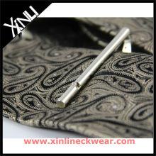Laço tecido de seda 2012 Clipe de gravata