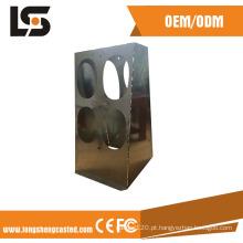 Fabricação de chapa metálica do quadro da máquina do CNC que carimba as peças