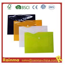 A4 File Dokumententasche mit Button Envelope Holder