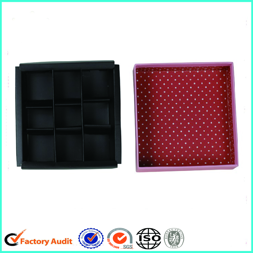 Chocolate Packaging Box Gift With Tray