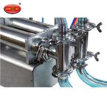 Factory Direct Sales two heads semi automatic liquid filling machine