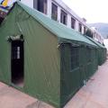 Tendas da casa segura resistem à chuva em 2020
