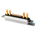 21W4 D-Sub Male Connector High Current Soldeerbeker