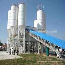 Plantas de lote de cimento de betão pronto de mistura de alta qualidade portátil à venda