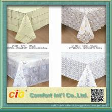 Toalha de PVC em alto-relevo de design fabricada na China