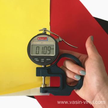 Self Adhesive Vinyl Film For Cutting Plotter