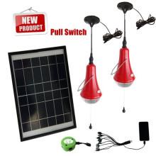 3W портативных удобная лампа-ограбление лампочки, Солнечный удобные лампочки, солнечной удобно лампы