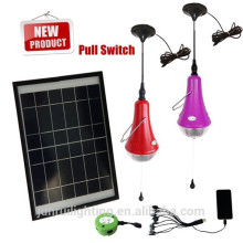 LED kit de iluminación solar shed, kit de iluminación solar al aire libre del jardín, iluminación solar ki