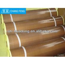 Tela adhesiva de PTFE tela /PTFE revestido de fibra de vidrio / antiadherente revestimiento del horno