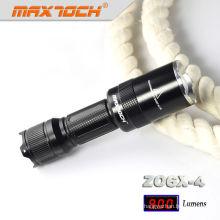 Maxtoch ZO6X-4 enfoque llevó luz de la antorcha de mano