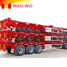 Hot Sale Equipment 3 Axles Skeleton Container Trailer