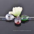 Мода каплевидную форму покрытие граненый кристалл бисер ювелирные изделия
