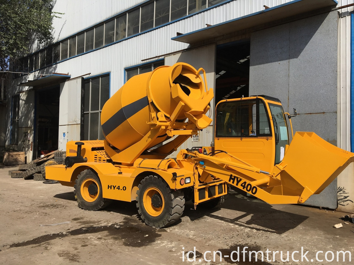 self-loading concrete mixer (5)