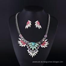 Böhmen-Art-Winkel-Flügel-Frauen-Halsketten-Satz Hln16822