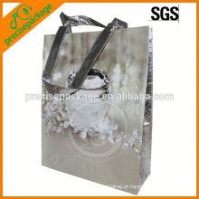 Saco de embalagem não tecido laminado impermeável para promoção cosmética