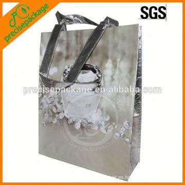 Bolso de empaquetado no tejido laminado impermeable para la promoción cosmética