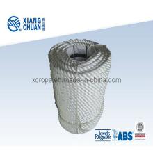 Cuerda de torsión de poliéster de 3 hilos de 12mm
