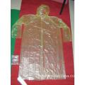 Impermeable desechable impermeable de emergencia para adultos