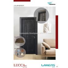 Soft Touch Surfaced PVC Tür mit WPC wasserdicht Rahmen