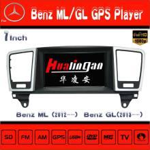 Hualingan Car Tracker Sysytem GPS Navigation for Mercedes Benz Ml /Gl Radio DVD Player