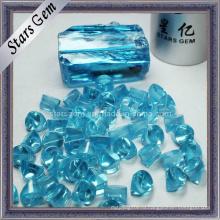 Light Aqua CZ Сырье / сырье, кубический цирконий Грубые