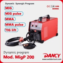 Professional pulse mig/mag inverter 200amps